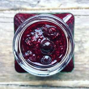 Blackberry, Lime and Chia Jam